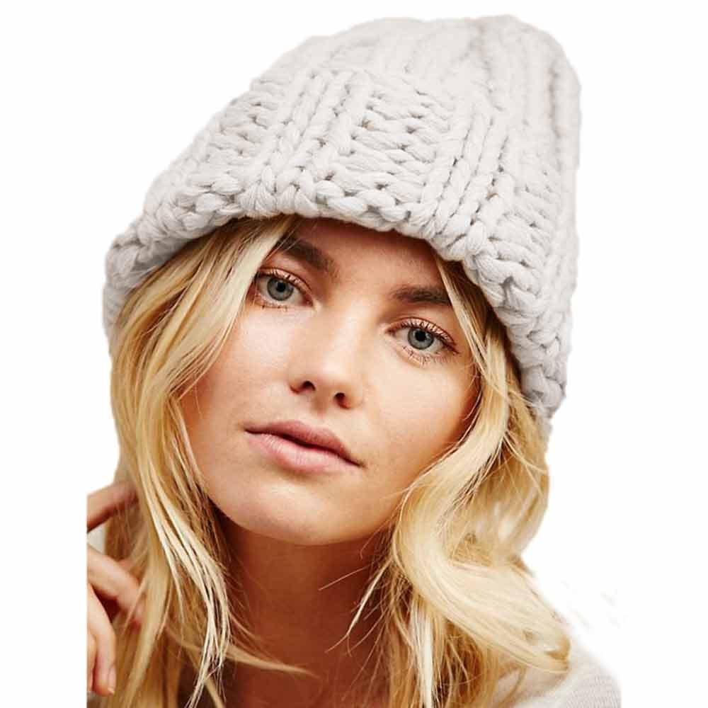 dae2f951ad579 Winter Brand Female Ball Cap Winter Hat For Women Girl Hat Knitted Beanies  Cap Thick Hip Hop Women S Skullies Beanies  815 Cloche Hat Crochet Hats  From ...