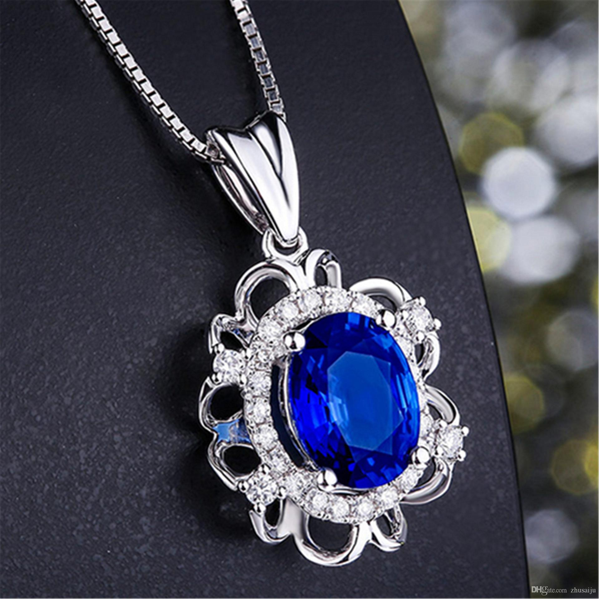 sapphire products wwake bias necklace