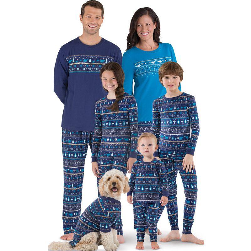 Next Christmas Pyjamas 2019.Wholesale Price Christmas Pyjamas Set Family Clothes 2018 New High Quality Cotton Polyester Sleepwear For Woman Men Kid