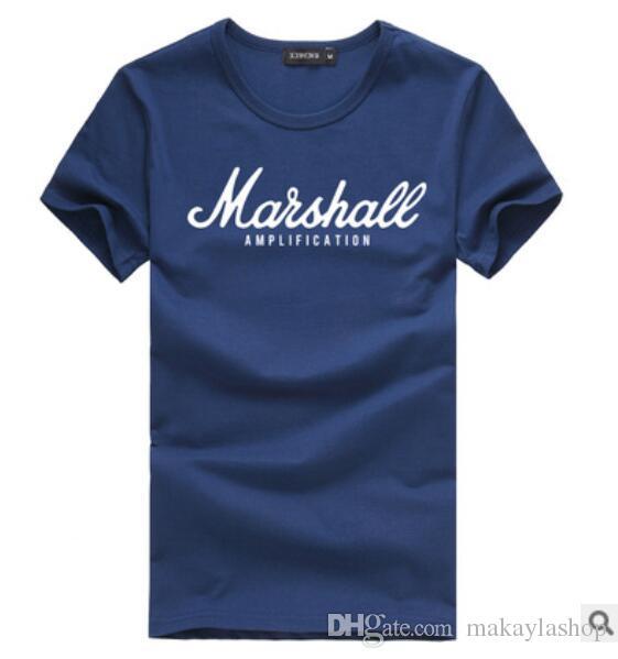 랩퍼 마샬 t 셔츠 최신 여름 100 % 코튼 라글란 티 힙합 streetwear 팬 hipster 남자 S-2XL