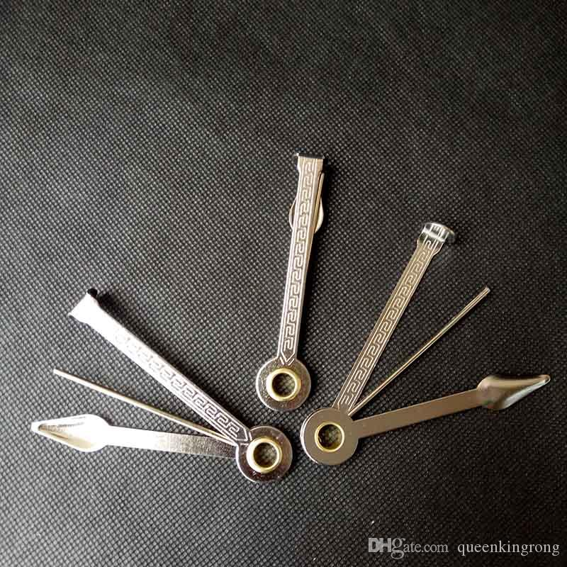 3 en 1 Tubería de fumar herramienta de limpieza de acero inoxidable Limpiador de tubos de acero inoxidable 3.2 pulgadas Pintar cuchara Tamper Cuchillo Diseño plegable Accesorios