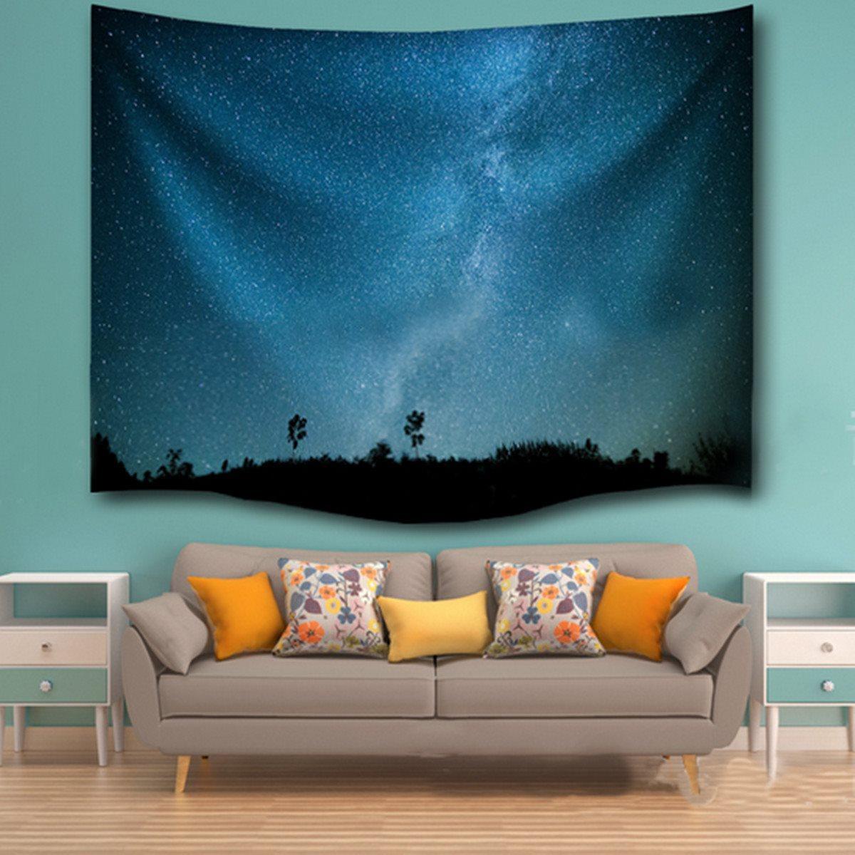 Wall Hanging Indian Mandala Star Tapestry 153x102cm Throw Blanket