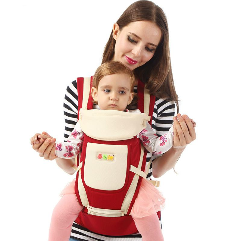 Mother & Kids Multifunction Outdoor Kangaroo Baby Carrier With Hood Sling Backpack Infant Hipseat Adjustable Wrap For Carrying Children Backpacks & Carriers