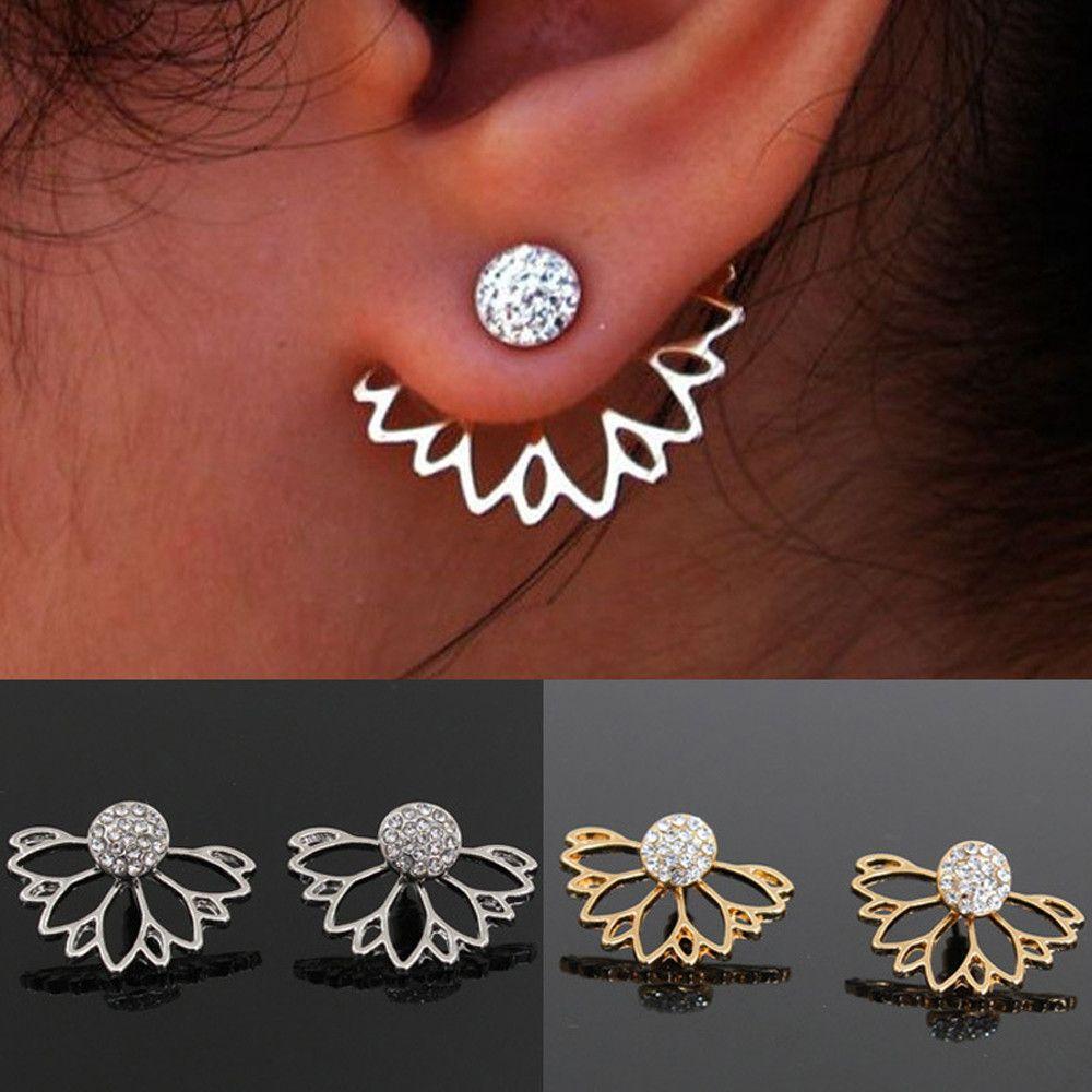 6762cb6b4d69f Exquisite Alloy Earrings Ear Ring Combination Of Fashion Simple Earrings  Woman Oorbellen Jewelry Accessories Bijoux Pendientes