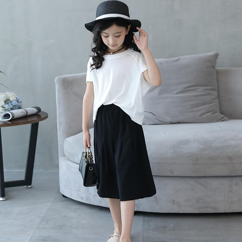 a162d8ed1f6 2019 Children Sets 2018 Summer Casual T Shirt+ Pants Girls Clothing Sets  Kids Summer Suit For 3 16 Years Mother Daughter Outfits From Friendhi