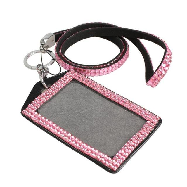 HOT NEW LINED BLING RHINESTONE WRISTLET LANYARD KEY CHAIN CELL PHONE STRAP CUTE