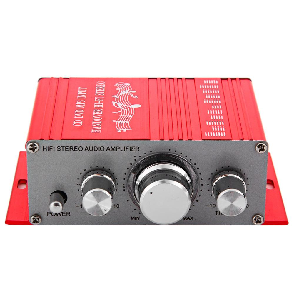 LONGFENG LF24 Hi Fi 12V Mini Auto Car Stereo Amplifier 2 Channel Audio  Support CD DVD MP3 Input For Motorcycle Home Car Stereo Wiring Car Stereo  Wiring ...
