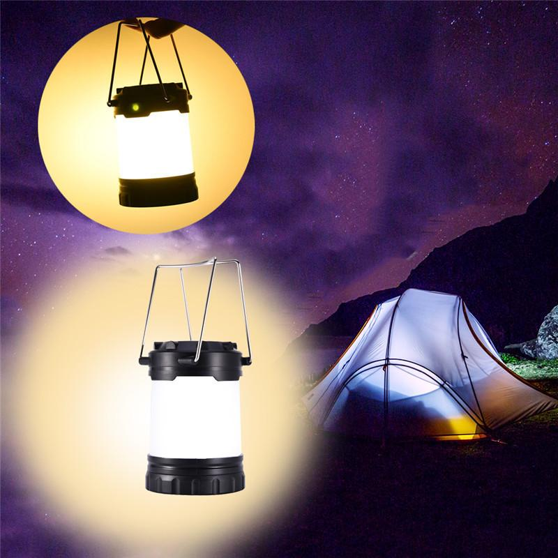 Waterproof Mini Portable Camping Lantern SMD5730 Led Outdoor Camping Tent  Light Three Lighting Mode Rechargeable Emergency Light