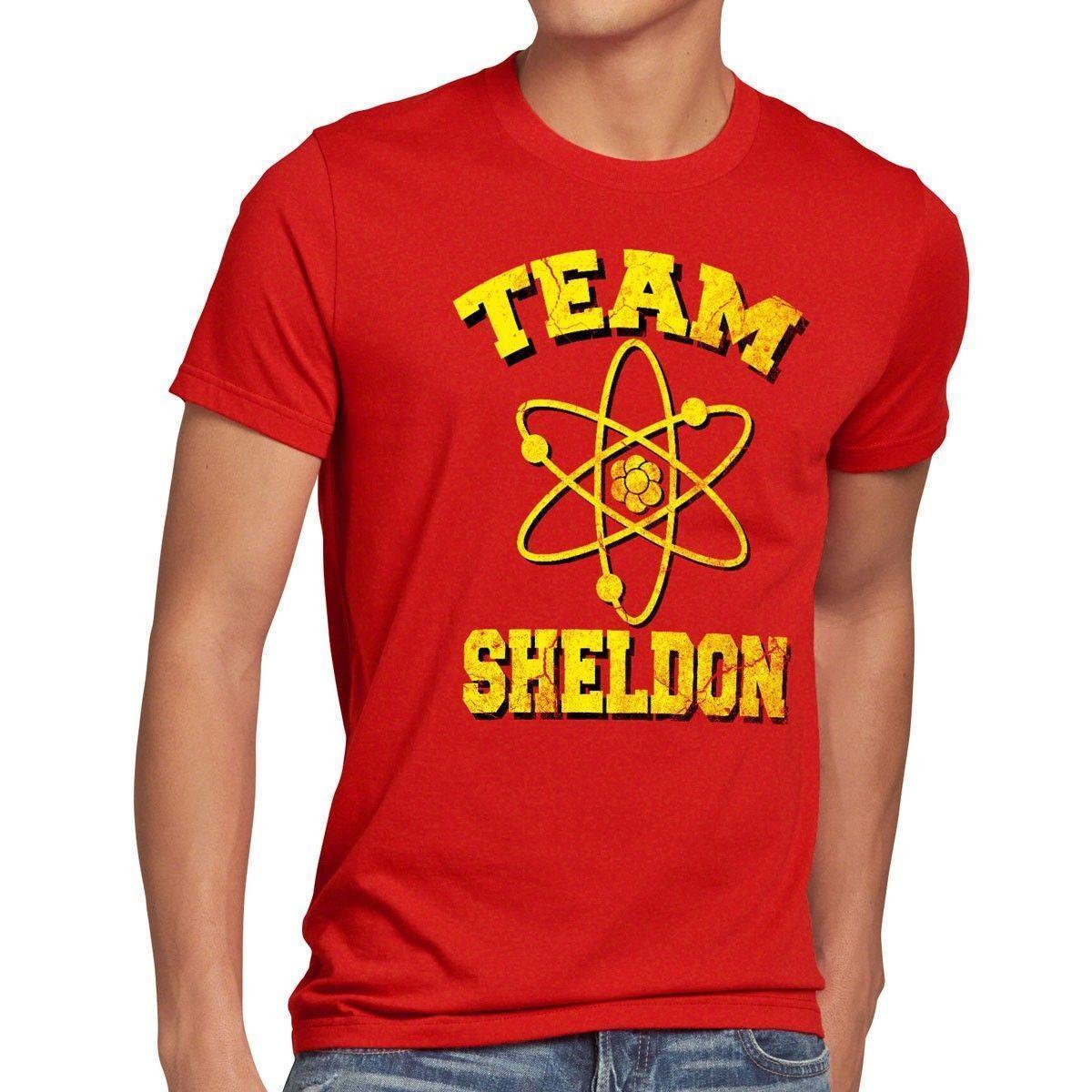 Compre Sheldon Team Herren Camiseta Grande Teoría Átomo Explosión Cooper  Tbbt Universidad Bazinga El A  11.21 Del Amesion44  6fd45df255c