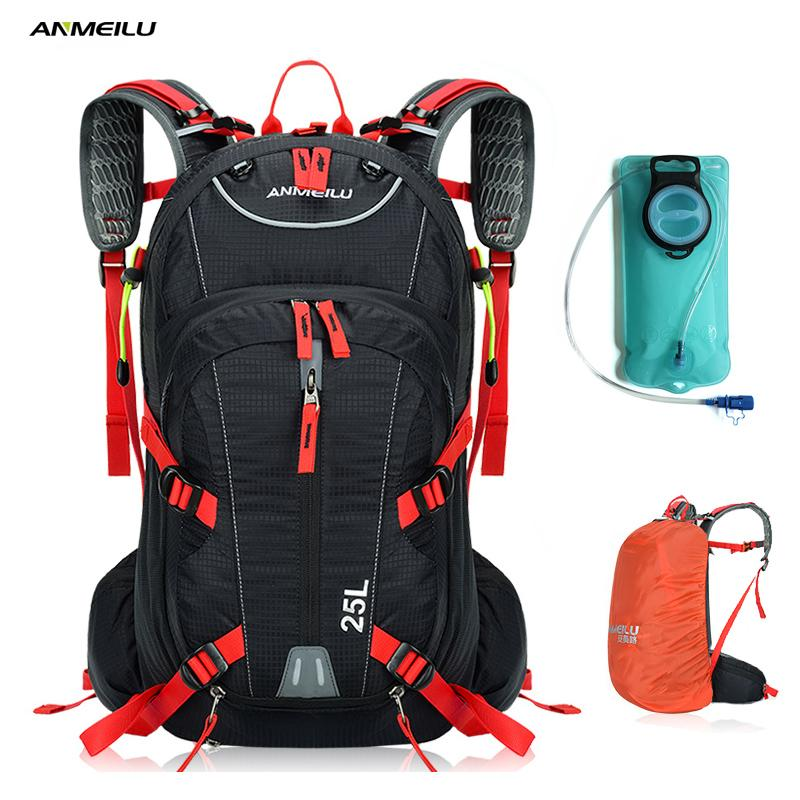 2a01e99597be ANMEILU 2L Water Bag Bladder 18L Waterproof Cycling Camping Backpack Sports  Climbing Bag Hydration Backpack Camelback Rain Cover Water Bags Cheap Water  Bags ...