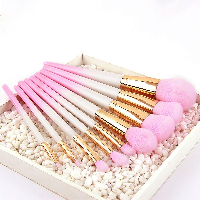 Diferentes juegos de pinceles de maquillaje de sirena Sailor Moon maquillaje pinceles Brillo Bling Diamond Pincel de maquillaje Kit de cepillos cosméticos con bolsa DHL gratis