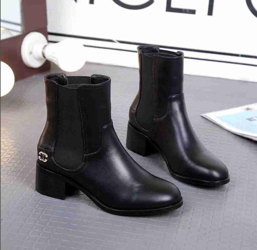 ba4b9b65be32 Women Counter Quality Fashion Women Ankle Boots Designer Fashion ...