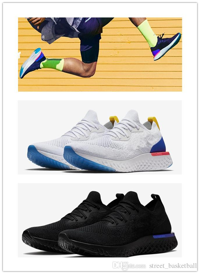 designer shoes Epic React Womens Mens Running Shoes Instant Go Fly Breath Comfortable Sport Boost For Sale Men Women Athletic sale low shipping fee QrbVTm