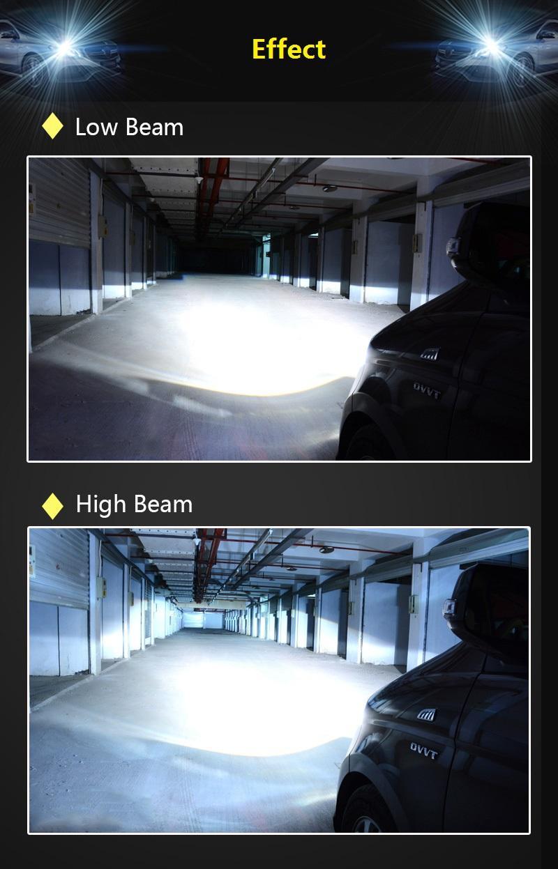 H1 H3 H7 H8 H9 H11 H10 HID Lámpara de xenón Bombillas de faros Reemplazo blanco 6000K 12V 55W Luz de niebla Coche Luz fuente Auto
