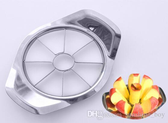 Hot Selling Stainless steel apple slicer Vegetable Fruit Apple Pear Cutter Slicer Processing Kitchen slicing knives Utensil Tool
