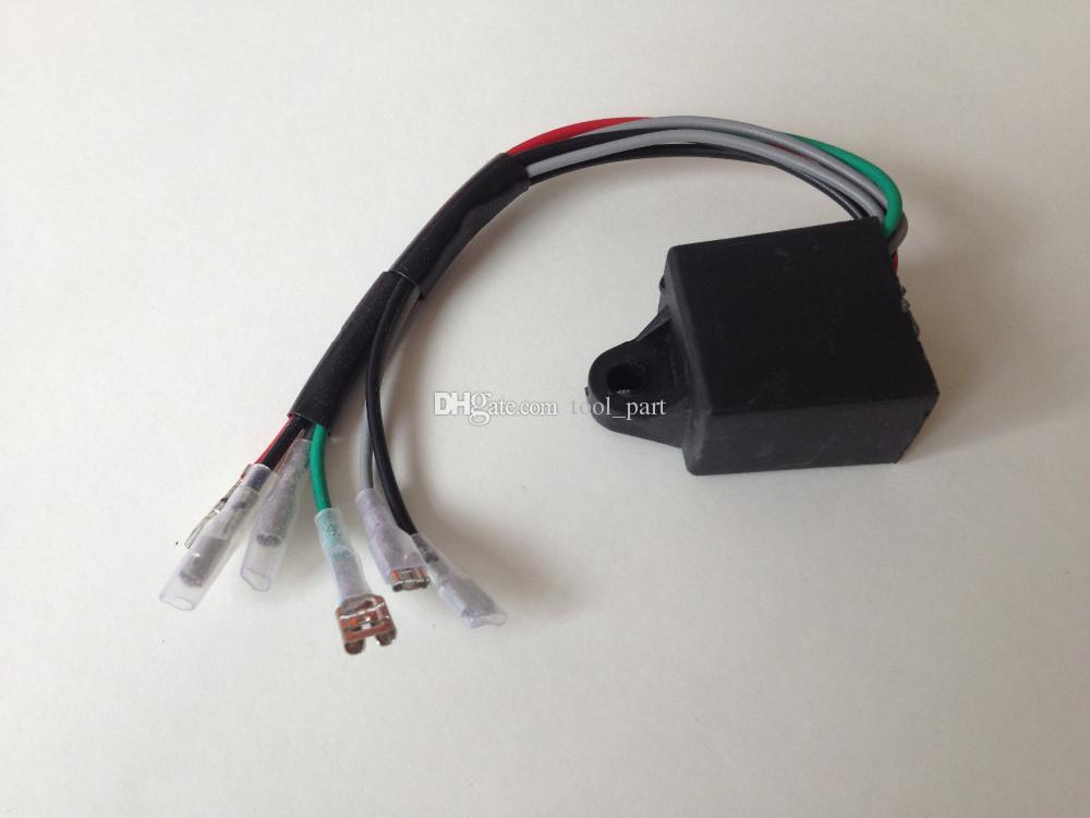 Модуль зажигания 3 шт. Комплект для Yamaha ET950 ET650 650 Вт генератор бесплатно почтовые высоковольтный набор высокого напряжения катушки зажигания 800 Вт генераторной части