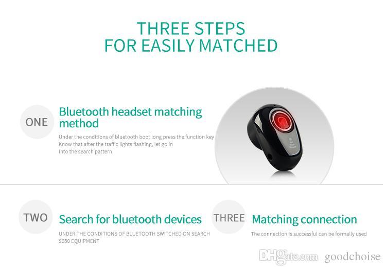 S650 VS S530 мини Беспроводной Bluetooth наушники в ухо спорт с микрофоном наушники гарнитура наушники Наушники для новой модели