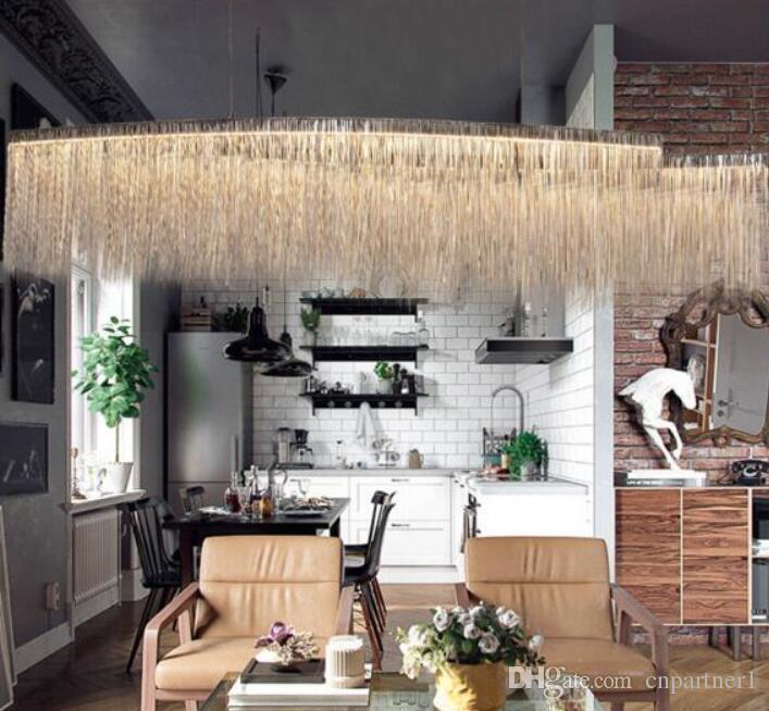 Acquista Moderno Design Di Lusso Decorativo Led Lampadario Nordic ...