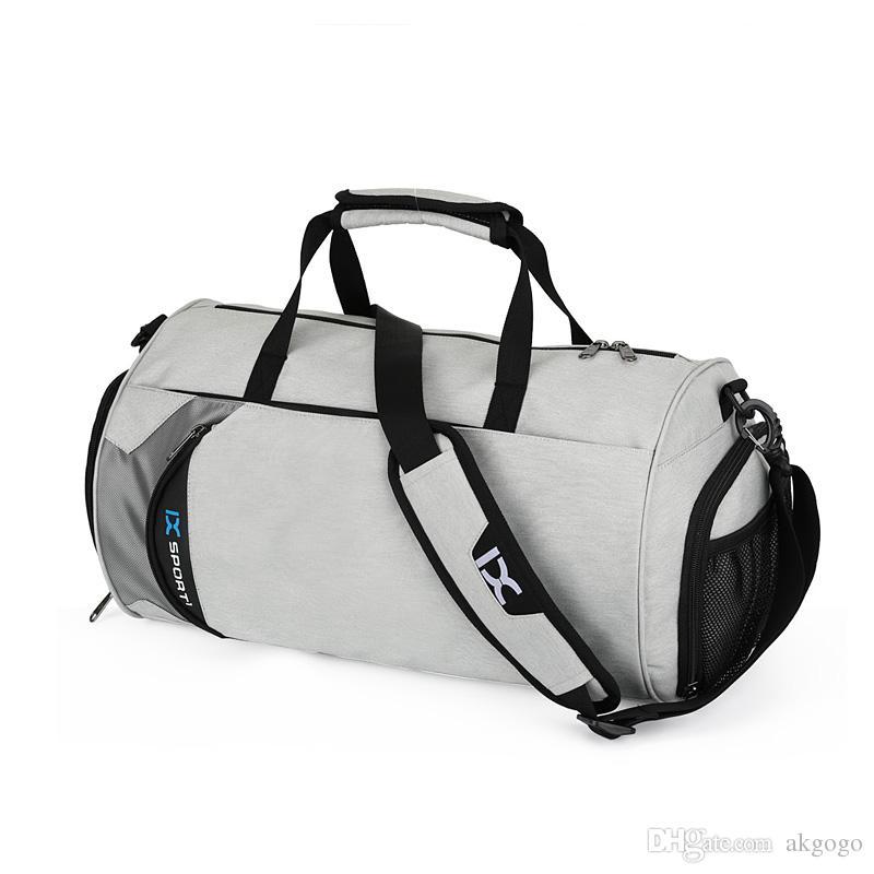 e3cdbceb4d44 2018 Fashion Gym Bags Sports Gym Bag Fitness BagTravel Bag Shoulder Bag  39 22 22 Leather Bags Handbags On Sale From Akgogo