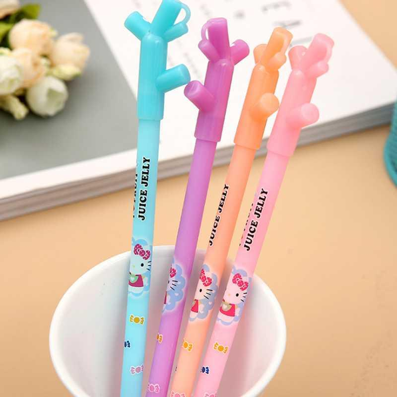 38d2b3fba 2019 Kawaii Hello Kitty Juice Jelly Color Branches Gel Pen Writing Signing Pen  Student Stationery School Supply Kids Gift From Almondor, $33.01 |  DHgate.Com