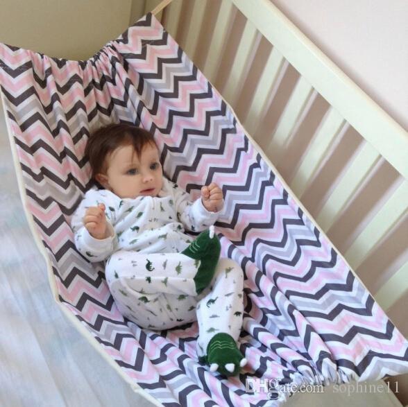 Portable Baby Hammock Newborn Infant Bed Elastic Detachable Crib