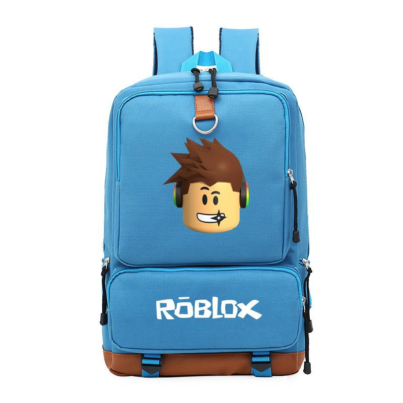 2018 Schoolbag Backpack Roblox Backpack for Teenager Male for Laptop 14-15  Inch Stdudent Travel Notebook Bags