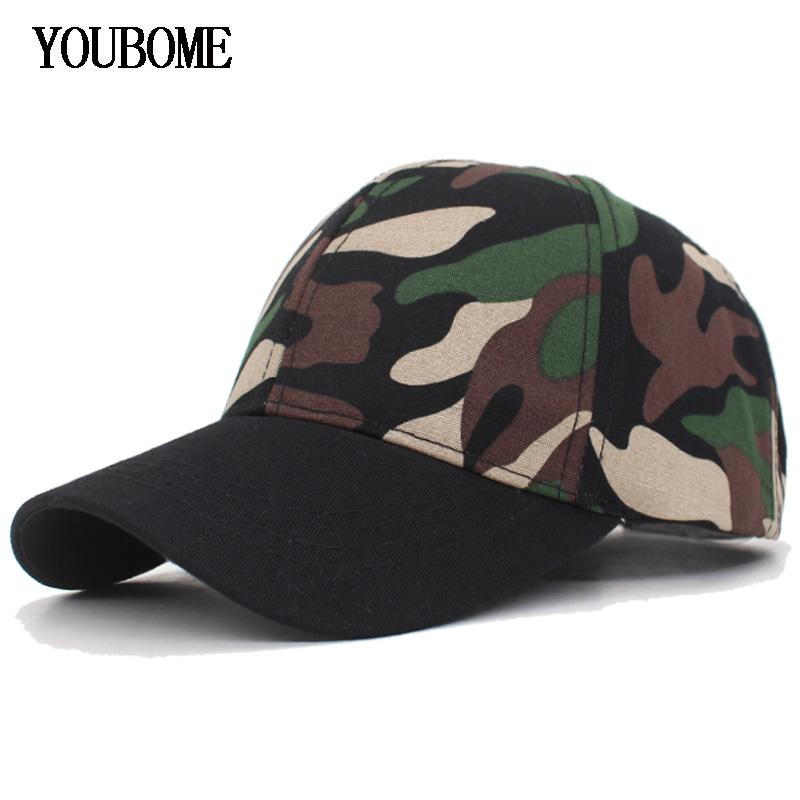 8f4a125102e YOUBOME Fashion Brand Women Camo Baseball Cap Camouflage Snapback ...
