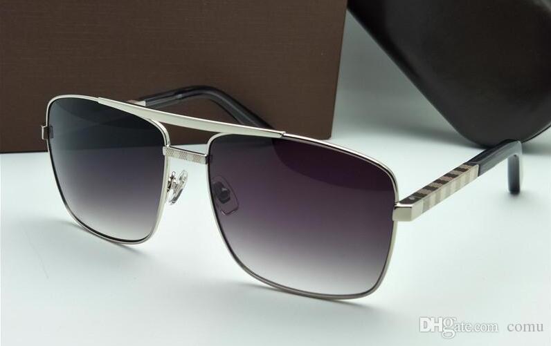 0f95f8ad12 Compre 2019 Gafas De Sol Nuevas Gafas De Sol De Actitud Marco Dorado Marco  De Metal Cuadrado Estilo Vintage Diseño Al Aire Libre Modelo Clásico De  Calidad ...