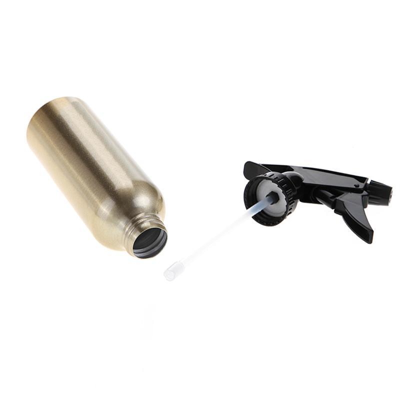 200 ml Gold Aluminium Wasser Spray Leere Flasche Friseursalon Pro Friseur Sprayer Zerstäuber Nachfüllbar Flaschen Barber Styling Werkzeuge