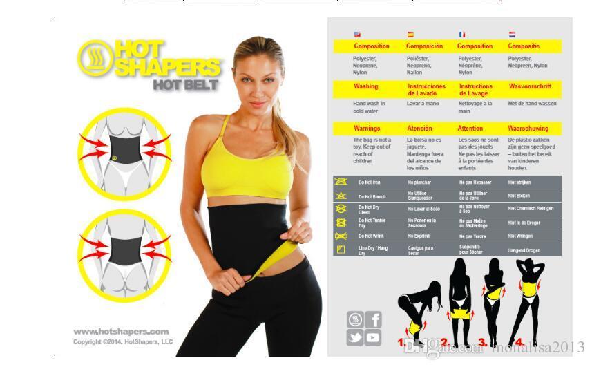 4d8b7b142b Body Hot Shapers Trimmer Waist Support Cincher Shapewear Girdle ...