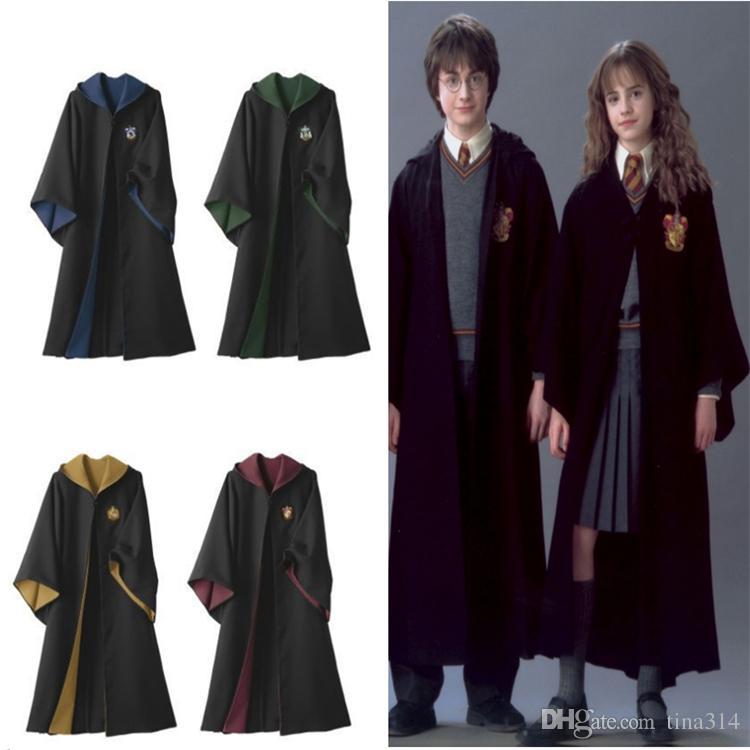 Theme Cosplay Costume Harry Potter Robe Cloak Harry Potter