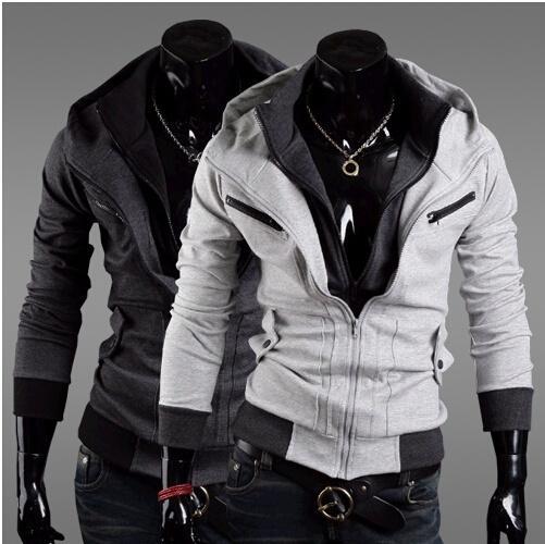 b001286912481 Plus Size Sports Hooded Jacket Casual Winter Jackets Hoody Sportswear  Assassins Creed Men S Clothing Hoodies Sweatshirts Fluffy Leather Jacket  Blue Jakets ...