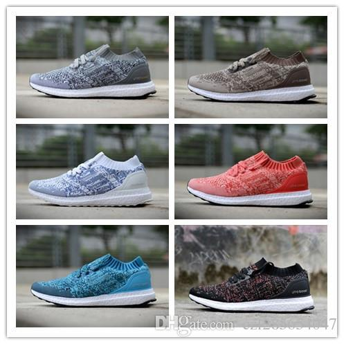 f4e2ced34021 2018 High Quality Ultra Boost Uncaged Primeknit Running Shoes Men And Women  Ultraboost Triple Sneakers Athletic Shoes 36-45 Primeknit Running Shoes ...