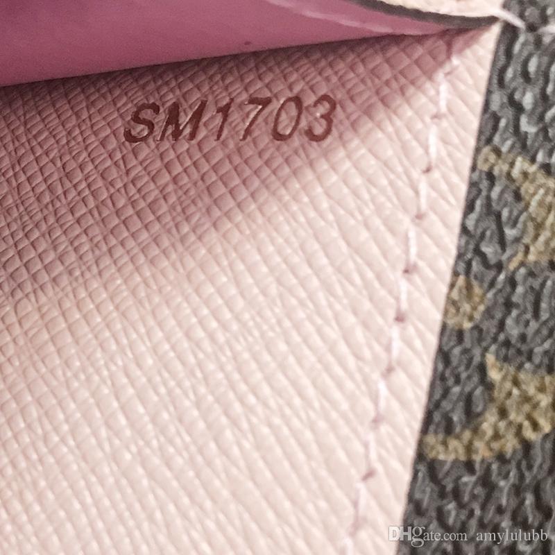 Atacado Clássico Standard Wallet Moda Couro Longo Moneybag Zipper Bolsa Multicolor Moeda Pocket Data Código de Nota Nota Nota Embreagem