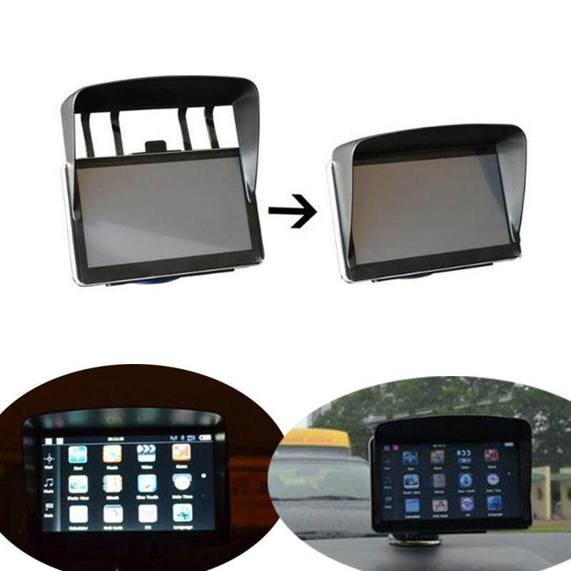 0deeb316ae1 2019 Universal Sunshade Sunshine Shield For 7 Inch Car GPS Navigator  Accessories GPS Screen Visor Hood Block Car Styling From Baixiangguo