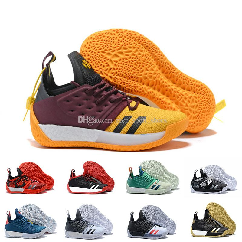 premium selection 7ef47 06fd4 2019 2018 Vol.2 Mens Basketball Shoes James Harden 2 Wolf Grey Sports  Sneakers Training Boost Drop Shipping From Men sport shoes,  105.73    DHgate.Com