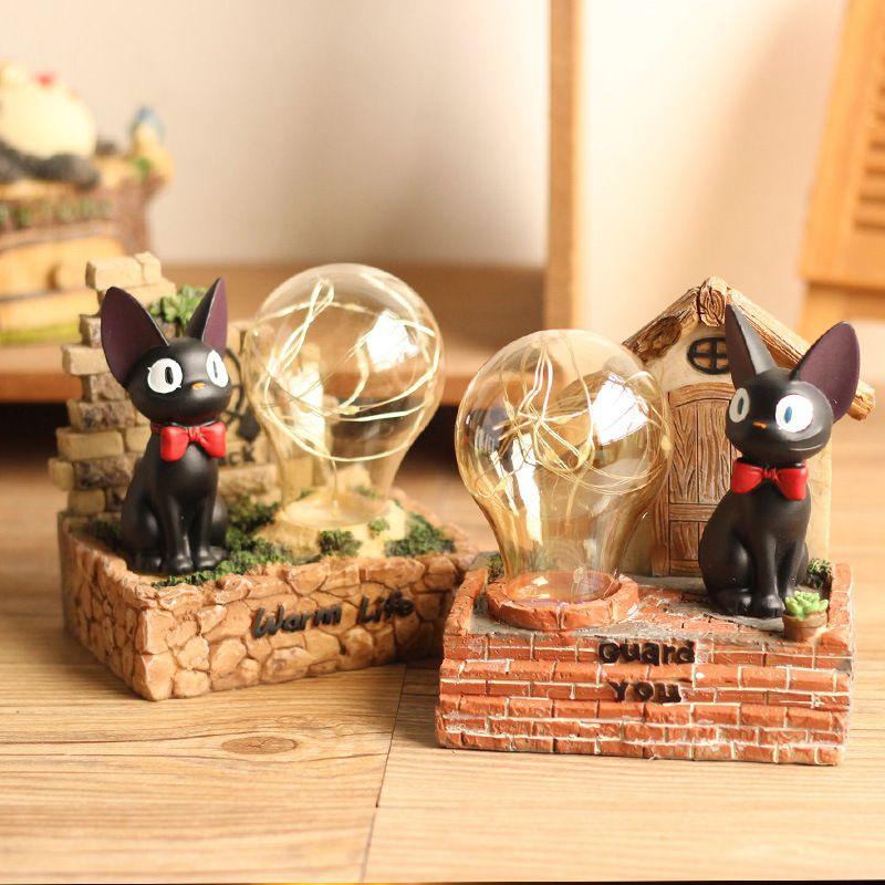 Lampe Miyazaki Zakka Épicerie Décoration Gigi Petite Japonaise De Résine Chat Magic Anime Veilleuse Table Starlight PiwkZTOXlu