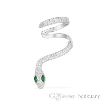 7f9dd5742 2019 Serpentine Ear Bone Clip Earring,Hand Inlaid Diamond,Famous Brand High  End Fashion Authentic 100% Sterling Silver With Diamond Jewelry From  Benkuang, ...
