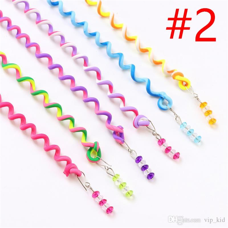 6 in 1 Renkli Kadınlar Kız Saç Şekillendirici Twister Klip Braider Aracı DIY Aksesuarları ücretsiz kargo