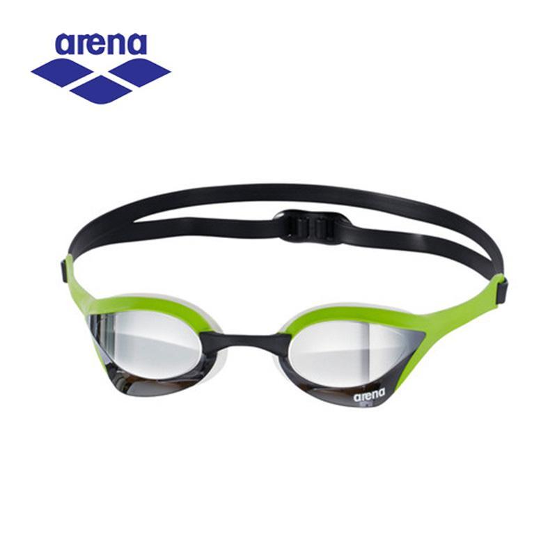 7c6906b59dd0a Compre Arena Anti Nevoeiro Uv Revestido Óculos De Natação Para Homens Óculos  De Corrida Profissional Óculos De Armação Ajustável AGL 180M De Jersey168,  ...