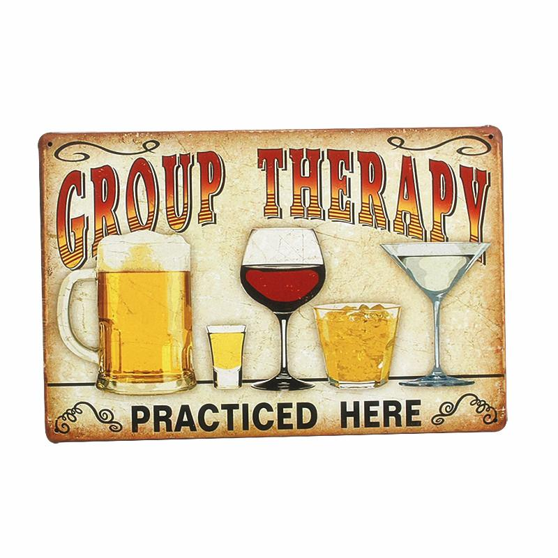 Plaque Beer Vintage Metal Tin Sign Wall Sticker Decoration Bar Home Wall Decor ART Poster Plate For Pub Coffee Christmas 30x20cm