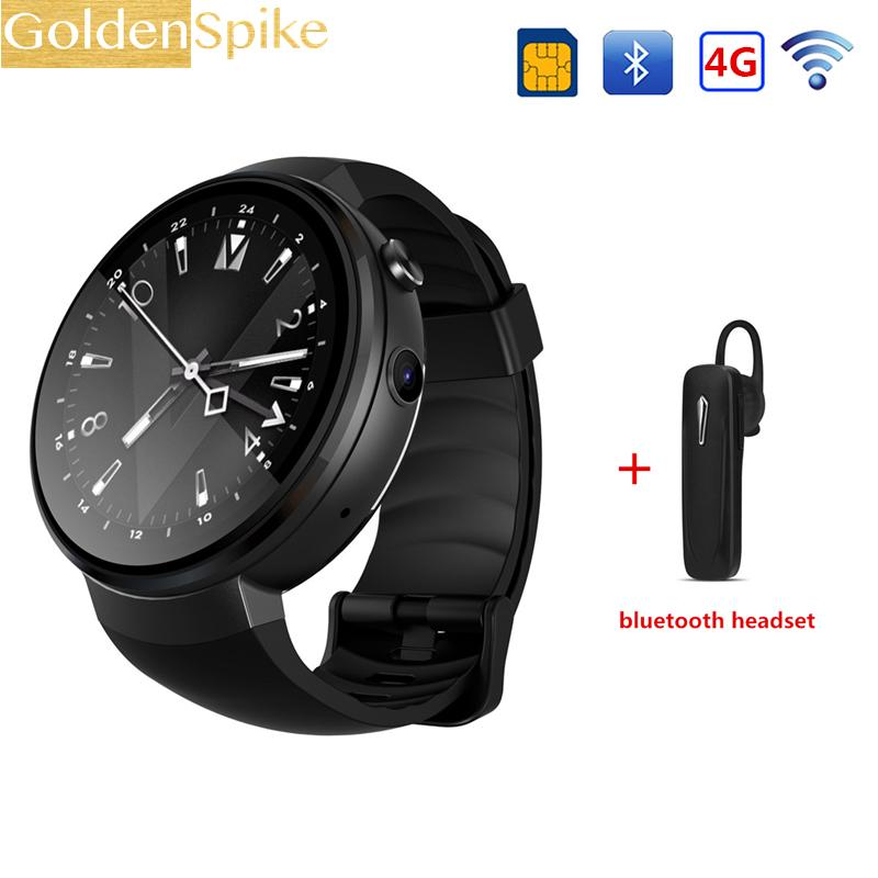 2e2d187995fab8 Z28 4G Smart Watch Android 7.0 ROM 16G+RAM 1G 580mAh GPS WIFI Hand-free  call For XIAOMI HUAWEI Smartwatch Men Wearable Devices