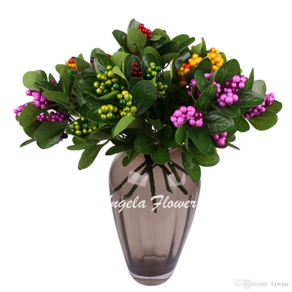 Discount wholesale artificial fruitree branshes simulation of green discount wholesale artificial fruitree branshes simulation of green plants grass lucky fruit silk flower home decoration table flower from china dhgate izmirmasajfo