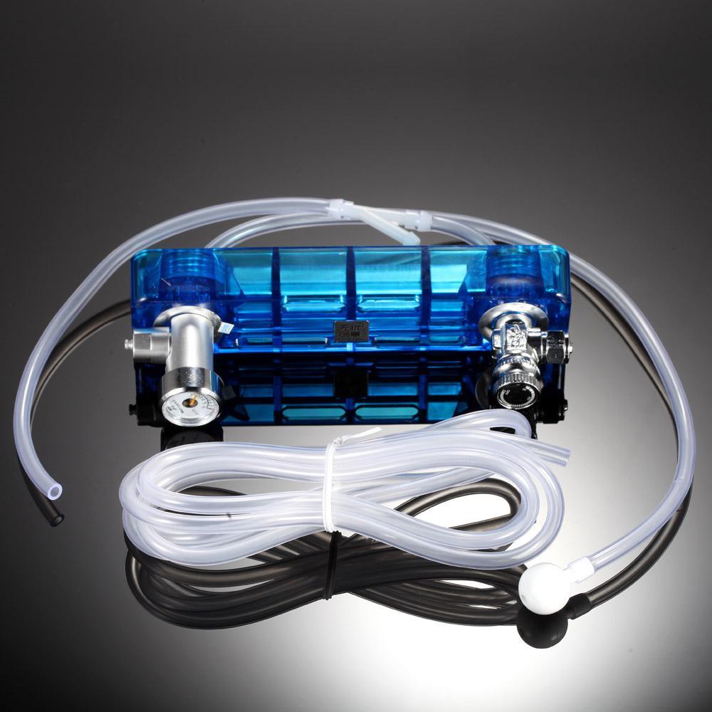 Aquarium Professionnel D501 Aquarium Planté Accessoires DIY Générateur De CO2 Kit De Valve Contrôle Set Co2 Diffuseur