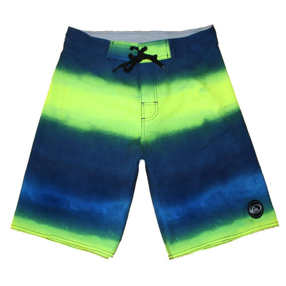 Awesome Elastic Fabric Bermudas Shorts Mens Beachshorts Board Shorts Leisure Shorts Swim Trunks Swimwear Swimming Trunks Quick Dry Swimtrunk