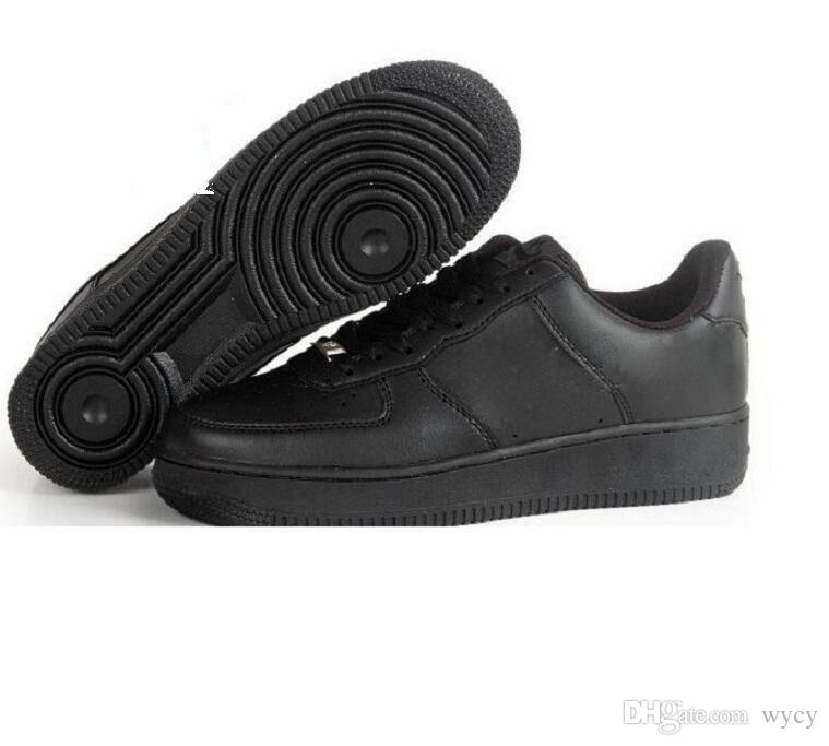 Nike Air Force one 1 Af1 Marke Rabatt One 1 Dunk Männer Frauen Flyline Laufschuhe, Sport Skateboarding Schuhe High Low Cut Weiß Schwarz Outdoor Turnschuhe