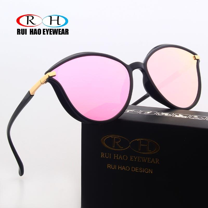 8c4b96ff03 Compre Rui Hao Eyewear Fashion Gafas De Sol Mujer Marca Sun Glasses Cat Eye  Sunglasses Diseño Outdoor Glasses Mujeres Rosa Nuevo A $20.55 Del Melontwo  ...