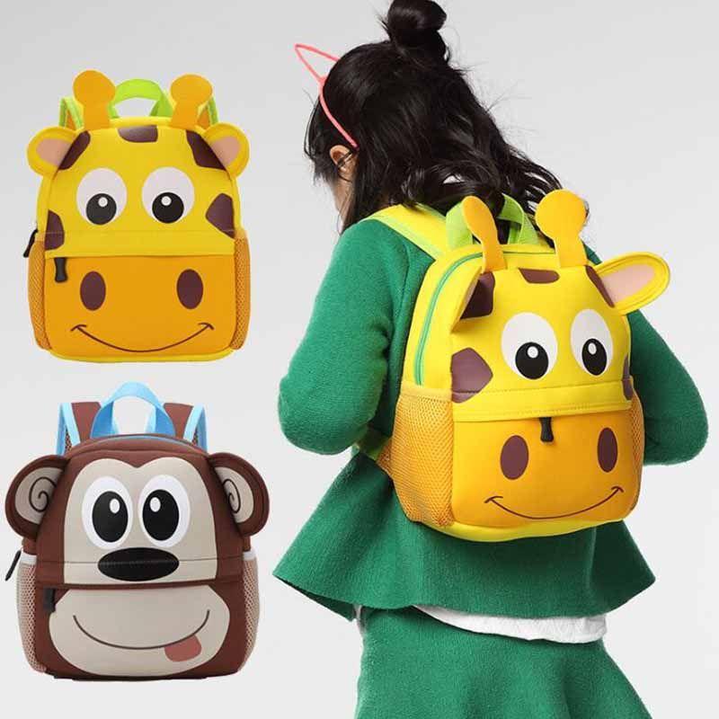 Boys' Accessories Cute Kid Toddler Backpack Kindergarten Schoolbag 3d Cartoon Animal Bag Kids' Clothing, Shoes & Accs