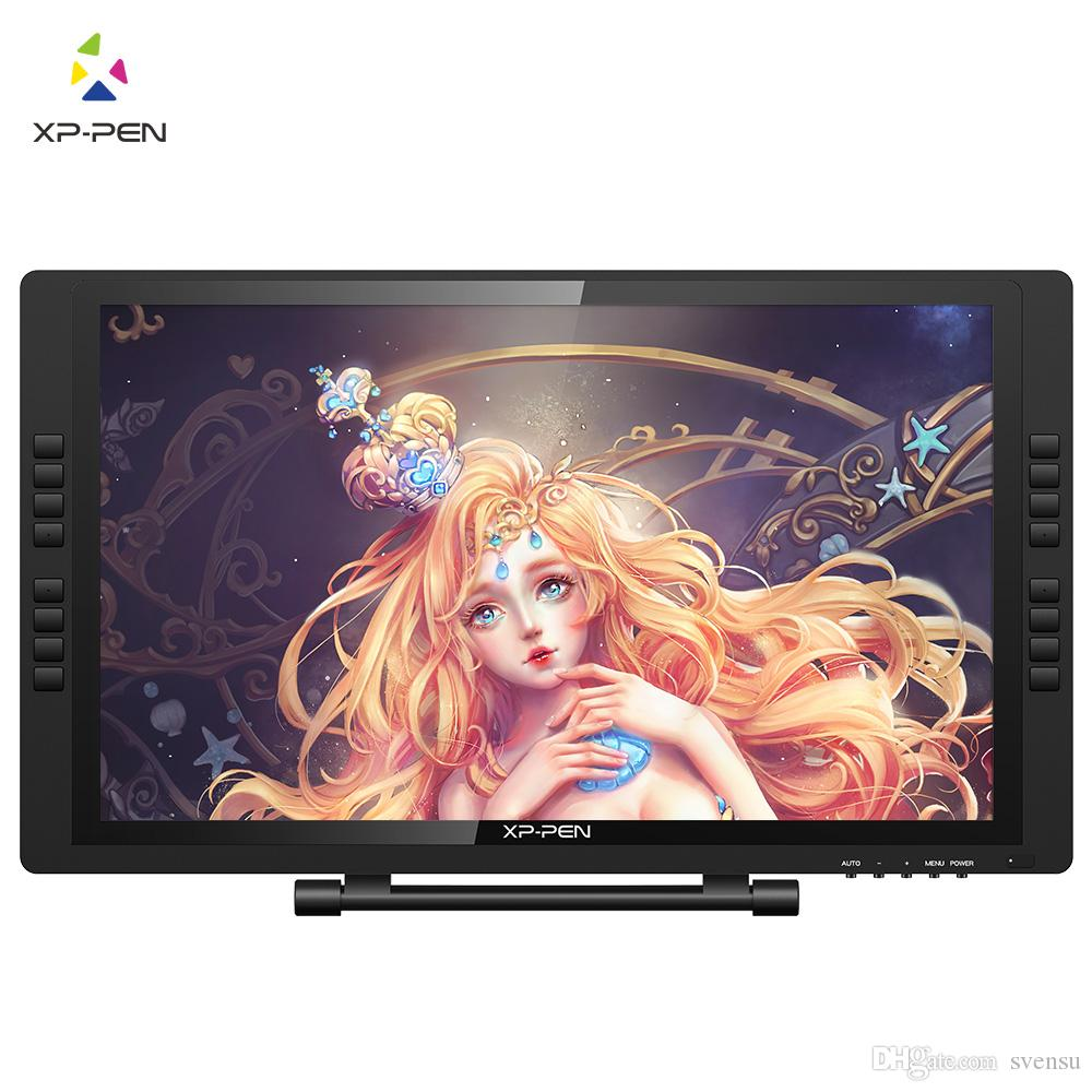 XP-Pen Artist22E PRO 22inch IPS Graphic Pen Display Interactive Drawing Monitor with Shortcut keys and Adjustable Stand Support Windows Mac