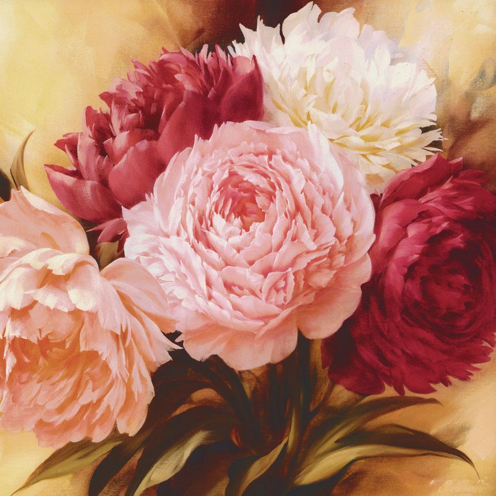 Acheter Coloriage Par Nombre De Photos Fleurs Sur Toile Main